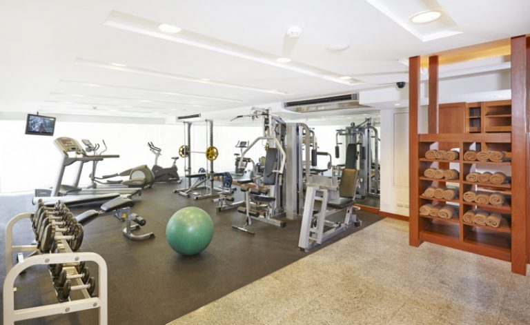 Woodlands Suites Service Residence : Fitness Room